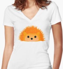 Sedgwick Hedgehog Women's Fitted V-Neck T-Shirt