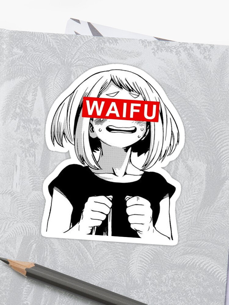 Asui Tsuyu My Hero Academia Sticker