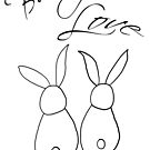 Bunny Love by Lindie Allen