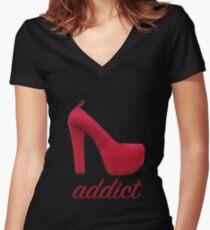 photos officielles 31307 a8e26 Christian Louboutin Fond Rouge Talons: T-shirts col V femme ...