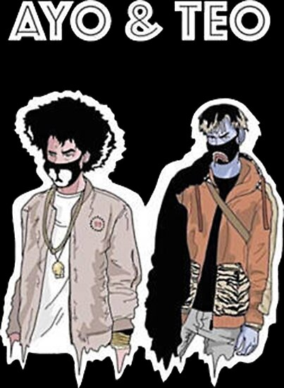 ayo teo posters by valeriemones redbubble