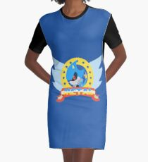 Metal Sonic Graphic T-Shirt Dress