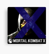 Mortal Kombat Merge Canvas Print