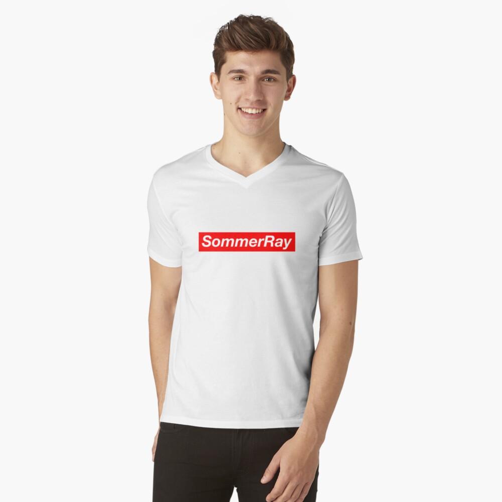 Sommer Ray T-Shirt mit V-Ausschnitt