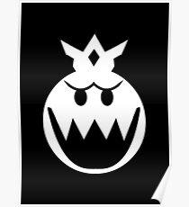 Simplistic King Boo Emblem Poster