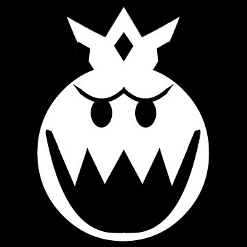 Simplistic King Boo Emblem by TheKalebFishStore