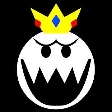 King Boo Emblem by TheKalebFishStore
