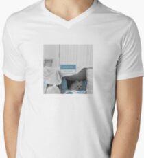 White Dog - what's the password Men's V-Neck T-Shirt