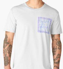 wiggly wavy Men's Premium T-Shirt