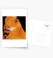 Schädel BDSM Kunstdruck Postkarten