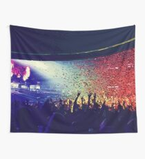 Reach for the Sound / Confetti Cloud (ODESZA Concert) Wall Tapestry