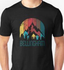 Retro City of Bellingham T Shirt for Men Women and Kids Unisex T-Shirt