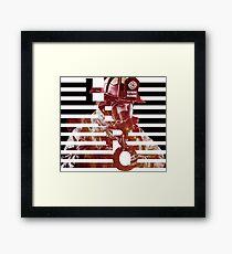 HERO - Firefighter  Framed Print