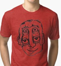 eye head Tri-blend T-Shirt