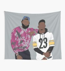 LeBron And JuJu Wall Tapestry