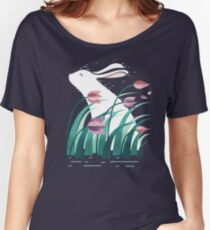 Rabbit, Resting Women's Relaxed Fit T-Shirt