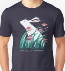 Camiseta ajustada Conejo, descansando