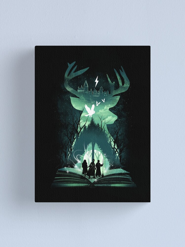 Alternate view of The Magic Never Ends Canvas Print