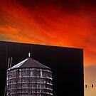 New York Sunset 11 by Alex Preiss