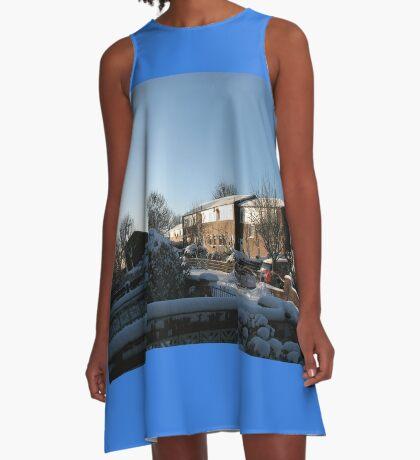 Sunshine and Snow A-Linien Kleid