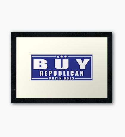 Buy Republican Putin Does Framed Print
