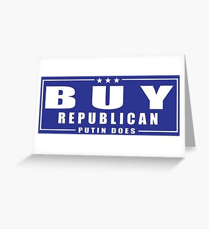 Buy Republican Putin Does Greeting Card