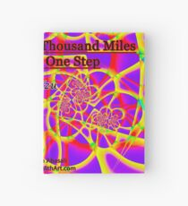 The Journey of a Thousand Miles Hardcover Journal