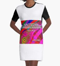 We Are United Graphic T-Shirt Dress
