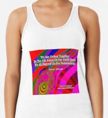 We Are United Racerback Tank Top