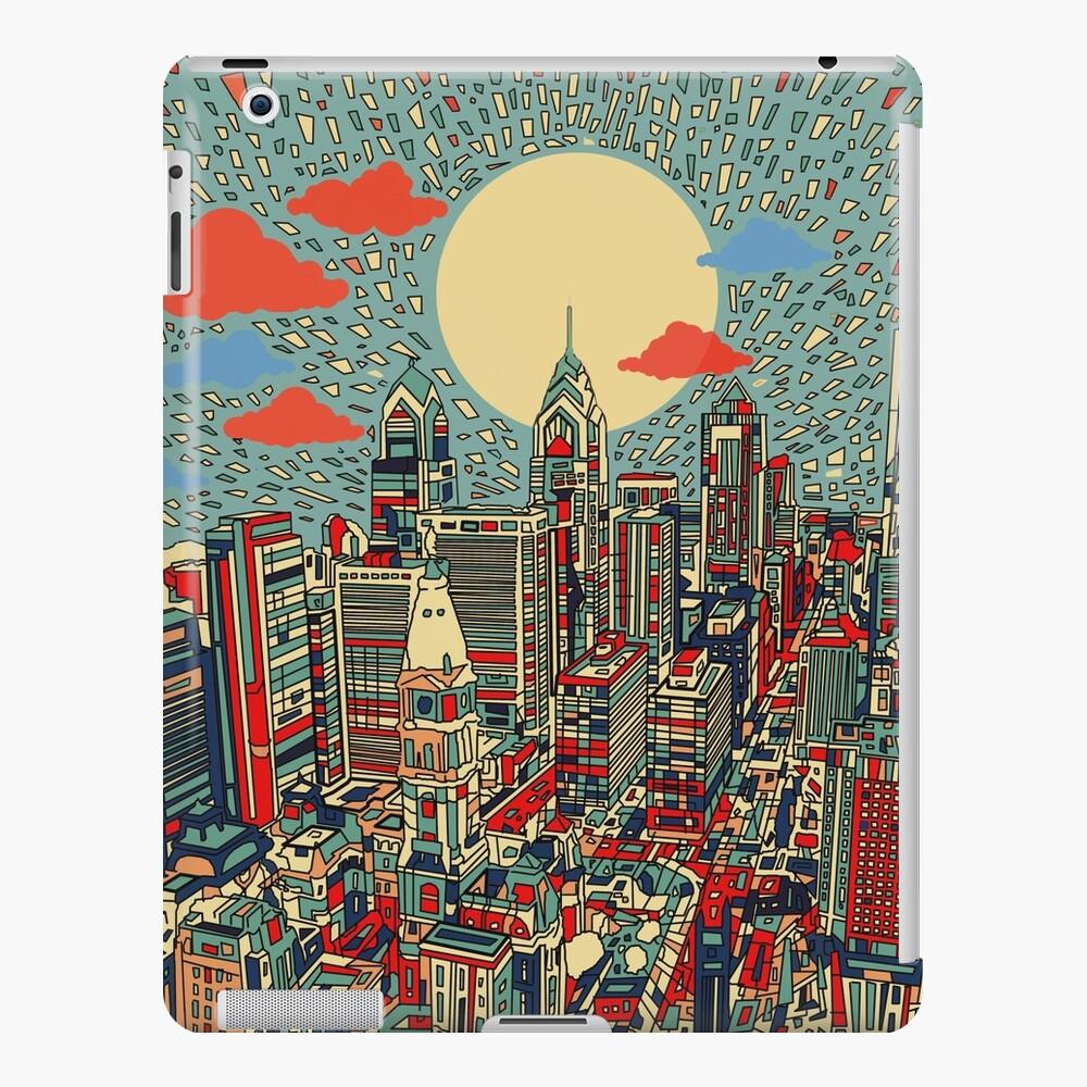 Philadelphia-Panorama 3 iPad-Hülle & Skin