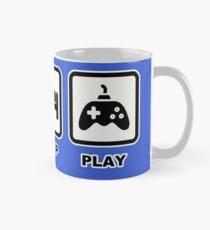 Taza clásica EAT SLEEP PLAY- Iconos de jugador