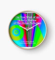 The True Work of Art Clock