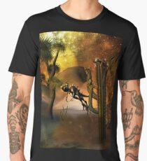 Funny little dinosaur Men's Premium T-Shirt