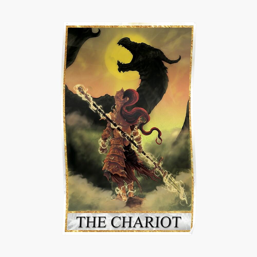 Tarot - Der Wagenwagen Poster