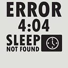 «Error 4:04 - No se ha encontrado el modo de suspensión» de nektarinchen