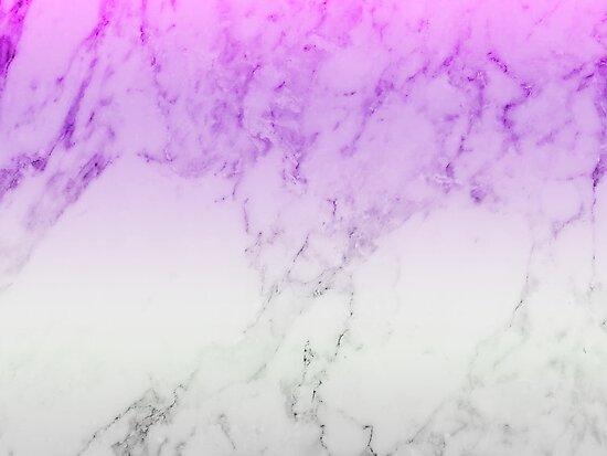 """""""Purple Marble Wallpaper"""" Posters by Daniel Ward   Redbubble"""