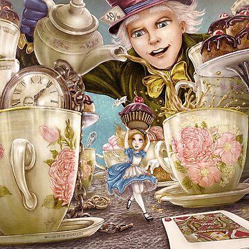 Alice Mad Tea Party by belizabethg
