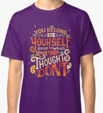 Thoughts are only thoughts Classic T-Shirt