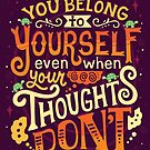 Thoughts are only thoughts by Risa Rodil