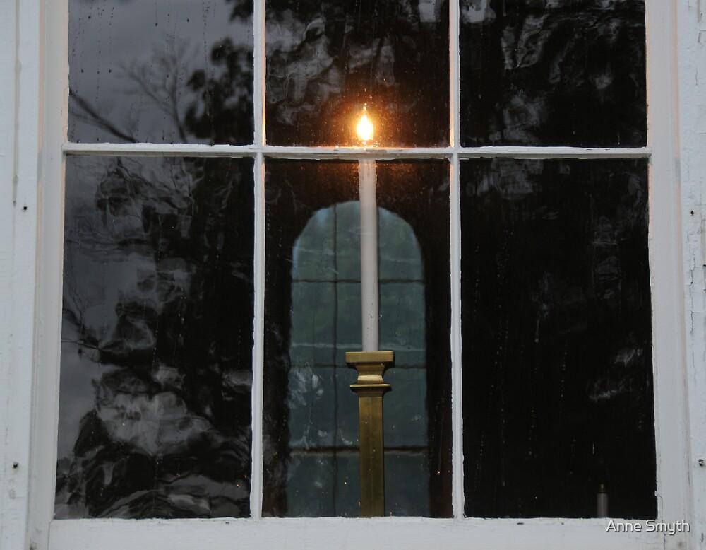 Window Candle by Anne Smyth