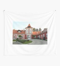 old castle in Serbia eastern Europe Wall Tapestry
