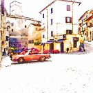 Glimpse With Cars by Giuseppe Cocco