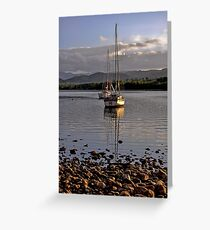 Boats on Ullswater Greeting Card