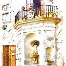 Fountain With Balcony by Giuseppe Cocco