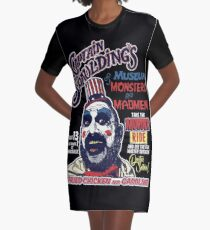 Captain Spaulding's Museum of Monsters and Madmen Graphic T-Shirt Dress