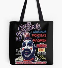 Captain Spaulding's Museum of Monsters and Madmen Tote Bag