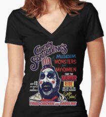 Captain Spauldings Museum der Monster und Verrückten Shirt mit V-Ausschnitt