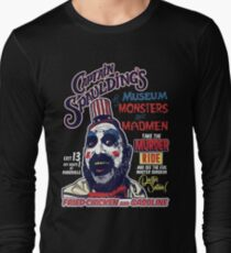 Captain Spaulding's Museum of Monsters and Madmen Long Sleeve T-Shirt