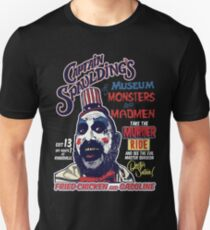 Captain Spaulding's Museum of Monsters and Madmen Unisex T-Shirt