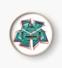 Space invader Clock